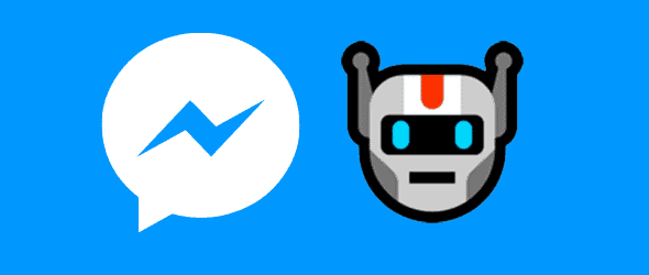 Logotipo messenger e bot